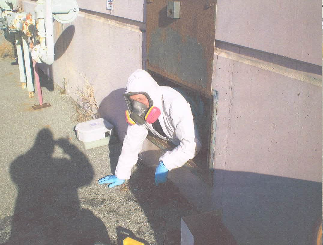 how to clean up sewage in crawl space